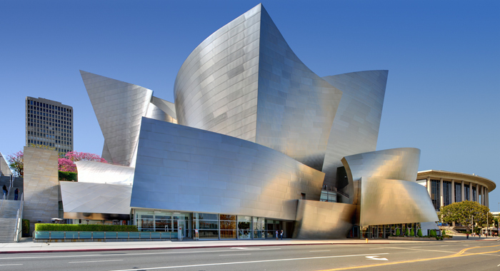 The Walt Disney Concert Hall by Frank O Gehry and Associates