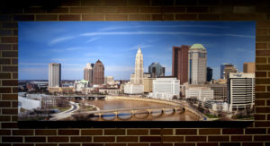 Columbus Ohio Skyline Panorama