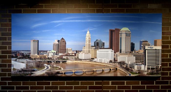 Columbus Ohio Skyline Panorama