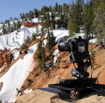 Nikon D300 with 24mm PC-E at Bryce Canyon